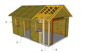 garage build plans how to build a detached garage garage plans house and backyard