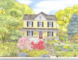 spring vibrance and recent house portraits leisa collins art