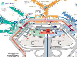 Chicago O Hare Gate Map by O Hare Gate Map With Airport Roundtripticket Me