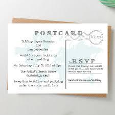 postcard wedding invitations invitation postcards linksof london us