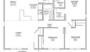 Simple 3 Bedroom House Plans 3 Bedroom 2 Bath House Plans 654104 One Story 3 Bedroom 2 Bath