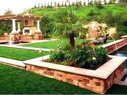 Landscape Ideas For Backyards With Pictures Patio Landscape Ideas For Backyards Large Size Of Garden Gardening