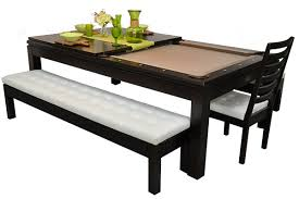 two tables in one ideal for the recreation room or dining room