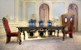 fabulous italy baroque design marquetry dining room furniture