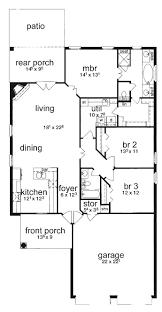 Simple Three Bedroom House Plan House Floor Plans Simple 3 Bedroom House Floor Plans Homelkcom