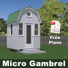 Micro Gambrel 600x600 Ml These Little Houses Are Gold You Can