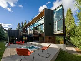 Home Design Windows Colorado Blackbird House In Aspen Colorado