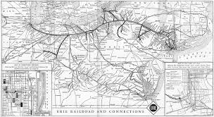 Erie Pennsylvania Map by The Erie Railroad