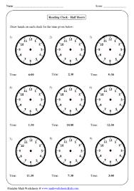 time worksheets time worksheets oclock free printable