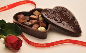 decorations diy chocolate present for valentines day with