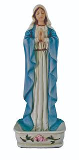 rosary holder our of consolation statues our praying rosary holder