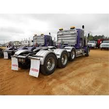 2009 kenworth t800 tri axle truck tractor