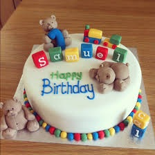baby birthday cake 15 baby boy birthday cake ideas