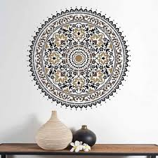 mandala stencil large stencils for walls tables and floors