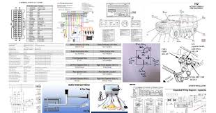 2006 hummer h3 radio wiring diagram hummer how to wiring diagrams