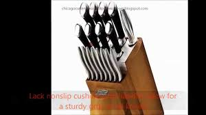 chicago cutlery fusion 18 piece knife set stainless steel with