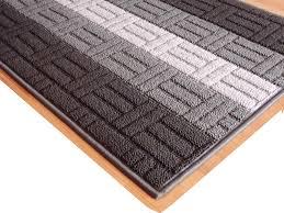 tappeti doccia cucina nero grigio