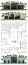 modern minimalist house plan 20 house plans pinterest