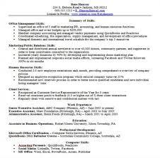 it resume skills resume templates