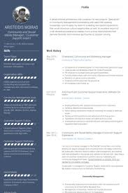 Social Media Manager Resume Sample by Marketing Manager Resume Samples Visualcv Resume Samples Database