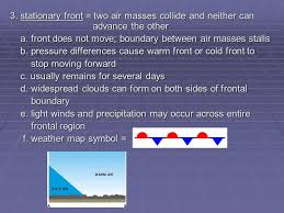 frontal boundary map meteorology meteorology study of atmosphere ppt