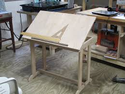 Drafting Table Blueprints Shop Computer Drafting Table By Slimt Lumberjocks