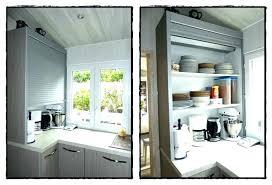 porte coulissante placard cuisine meuble de cuisine avec porte coulissante porte coulissante placard