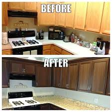 how to refinish stained wood kitchen cabinets how to refinish wood kitchen cabinets before and after refacing and