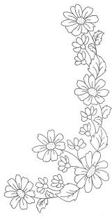 Flower Designs For Drawing Top 25 Best Floral Border Ideas On Pinterest Flower Watercolor
