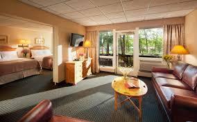 two room edgewater suites woodloch resort