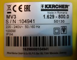 100 karcher 800 manual tech for less apc battery charger