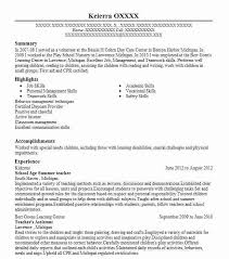 Reading Teacher Resume Best Summer Teacher Resume Example Livecareer