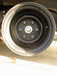 Vintage Ford Truck Steel Wheels - 6 lug steel wheels for disc brake conversion the 1947 present