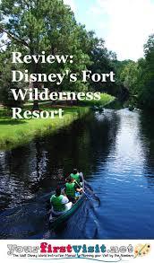 Fort Wilderness Map Review Disney U0027s Fort Wilderness Resort