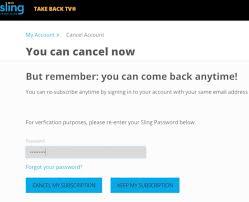 Tv Subscribe Cancel Sling Tv Truebill