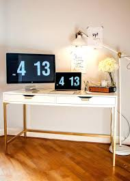 white and gold office desk white and gold desk first rate gold office decor excellent ideas