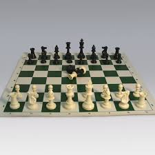 Chess Set Amazon Tournament Chess Set With Roll Up Chess Board And Canvas Zippered
