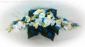 fleur artificielle mariage fleur artificielle bleu la pilounette