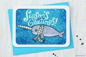 cute critter christmas cards super cute kawaii