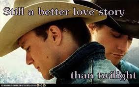 Still A Better Lovestory Than Twilight Meme - brokeback mountain a better love story than twilight dump a day