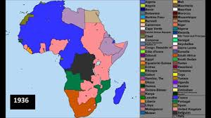 Gabon Africa Map by Africa 1909 2011 Youtube