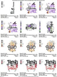 machine embroidery designs halloween sentiments too bunnycup