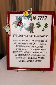 a little moore love superhero themed baby shower