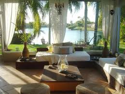 Sun Porch Curtains Exquisite Furniture Juggles Sun Porch Into A Comfortable Place To