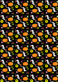 Halloween Printable Paper by Free Scrapbook Paper Halloween Hearts Large Rooftop Post