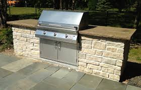 Built In Gas Grills Built In Grill Designed With Your Patio In Mind