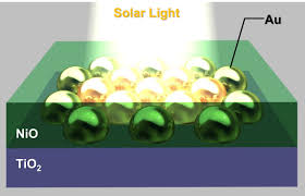 solid state materials with gold nanoantennas for more durable
