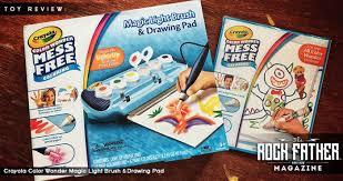 toy review crayola color wonder magic light brush