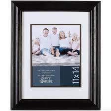 Photo Albums 8 X 10 Satin Black 11x14 8x10 Frame By Gallery Solutions Picture