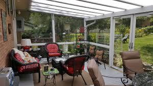 Outdoor Furniture Cincinnati by Lumon Natural Light Patio Covers Dayton U0026 Cincinnati Deck Porch